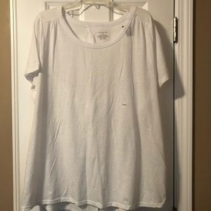 Lane Bryant envelop back tee